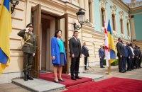 Зеленський провів перемовини з президенткою Грузії Саломе Зурабішвілі