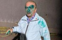 В Тернополе облили зеленкой кандидата в мэры от Радикальной партии