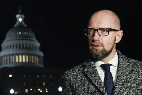 Членство України в НАТО може зупинити Росію, - Яценюк