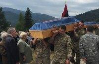 56 бойцов УПА перезахоронили в Сколе