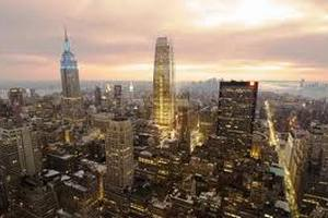 В Нью-Йорке соорудили каркас нового небоскреба на месте разрушенного 11 сентября