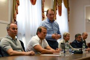 Кучма встретился с Зурабовым в Минске