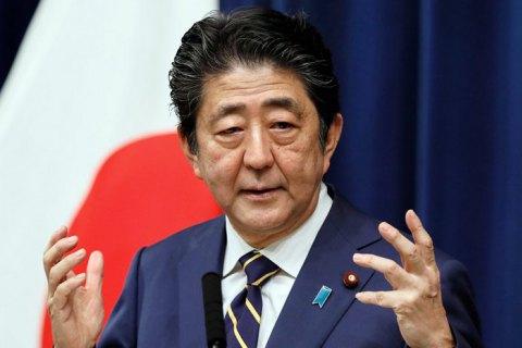 Прем'єр-міністр Японії оголосив про відставку за станом здоров'я
