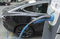 Импорт электромобилей в Украину в первом квартале вырос втрое
