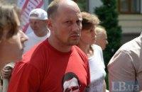 Каплин обжаловал запрет суда проводить ему акции протеста в Киеве до августа