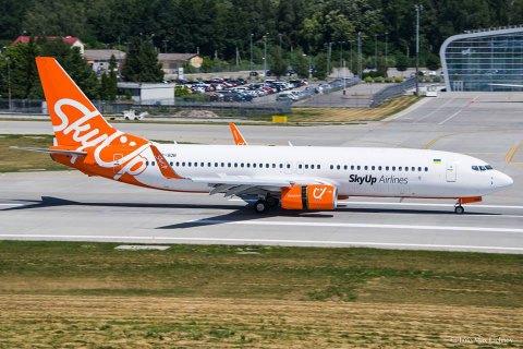 Суд Барышевки постановил заморозить лицензию авиакомпании SkyUp