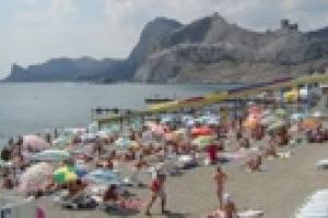 Крым принял на отдых миллион туристов