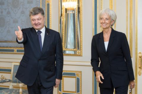 """Порошенко обвинил """"Самопомощь"""" в отсрочке четвертого транша МВФ"""