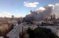 Печерский суд приостановил работу из-за пожара на Крещатике