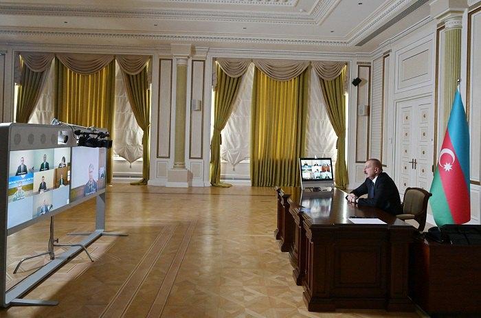 Заседание Совета Безопасности Азербайджана