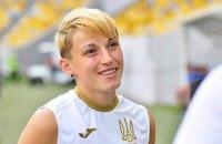 Украинку выгнали с поля в матче плей-офф Евро-2022 после грубого фола