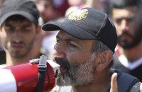 Пашиняна выдвинули на пост премьер-министра Армении
