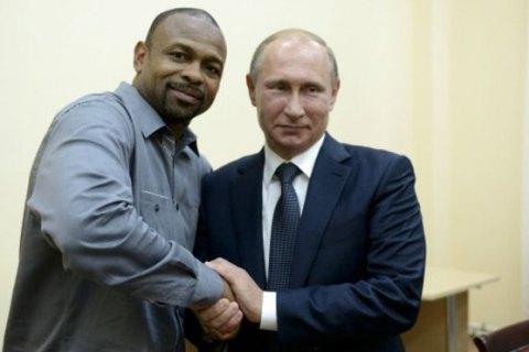 Американский боксер Рой Джонс подал заявление на российское гражданство