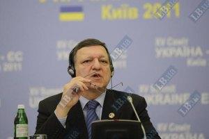 Баррозу вновь разъяснил Януковичу, что нельзя быть и в ТС, и в ЗСТ с ЕС