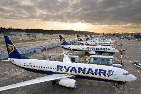 Ryanair скасує ряд рейсів з Києва в ЄС: озвучені терміни