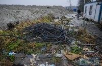 В Киевской области пытались украсть 8 км кабеля спецсвязи