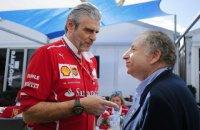 Президент FIA не исключает ухода «Феррари» из Формулы 1