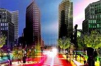 """Датчане придумали """"умную дорогу"""", которая сама меняет разметку для водителей и пешеходов"""