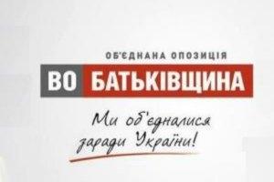 """""""Батькивщина"""" на съезде 16 октября выдвинет кандидатов на перевыборы"""