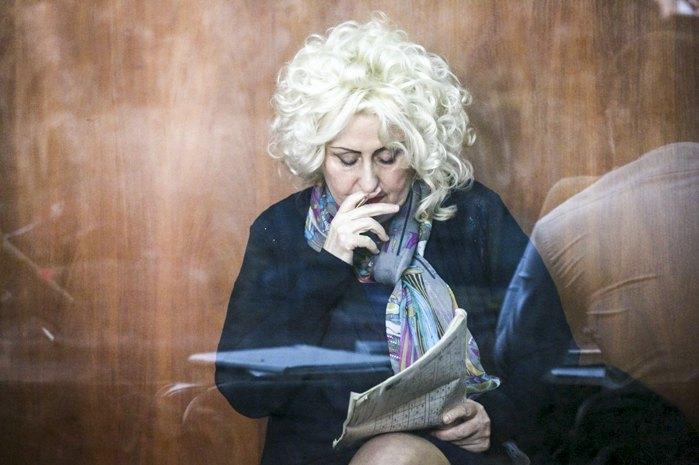 Колишній мер Слов'янська Неля Штепа під час судового засідання