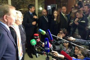 Участники контактной группы рассказали об итогах встречи в Минске