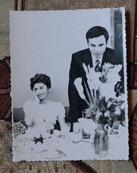 На своей свадьбе Дина была в изумительно красивом платье