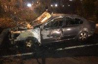 В.о. голови Одеської митниці підпалили автомобіль