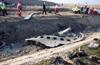 Іран уточнив причину катастрофи літака МАУ під Тегераном