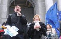 Луценко призвал киевлян вступать в отряды самообороны
