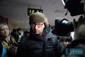 Яценюк: я не купуюся за посади
