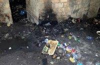 Двох киян затримали за підозрою у спаленні людини