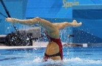 Украинские синхронистки впервые выиграли медаль чемпионата мира