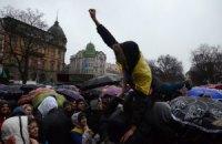 Львовский Евромайдан предлагает объединиться с оппозицией