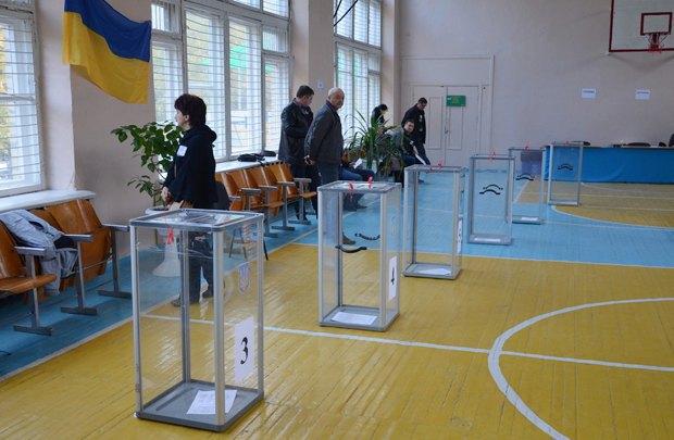Избирательный участок в Краматорске 25.10.29015