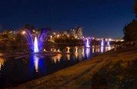 На Русановском канале в Киеве запустили еще четыре фонтана