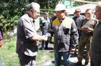 Три прифронтовые села через год подключили к электричеству