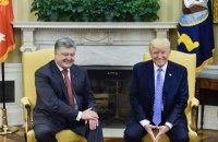 За организацию встречи Порошенко с президентом США адвокат Трампа получил $400 тыс., - ВВС