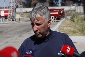 Пожежники готують нову пінну атаку на нафтобазі