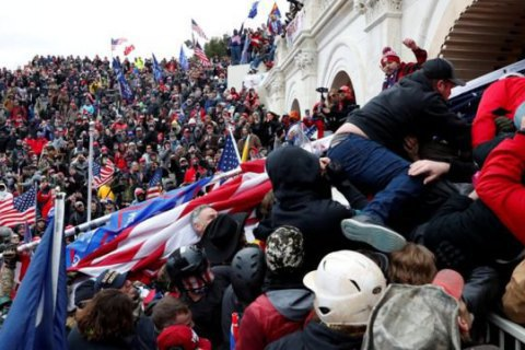 В США после штурма Капитолия открыли 25 дел о терроризме