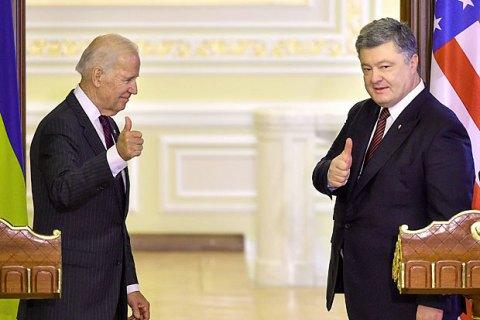 Порошенко: президентство Байдена відкриває для України нові можливості