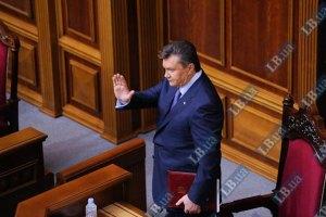 Януковича беспокоит ситуация с блокированием работы Рады