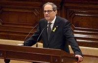 Новый премьер Каталонии не присягнул королю Испании