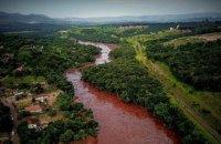 Число загиблих у результаті прориву дамби біля шахти в Бразилії досягло 121