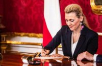 В Австрії міністр праці та молоді подала у відставку через звинувачення у плагіаті