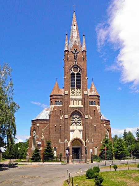Костел Успіння Богородиці у Кам'янці-Бузькій