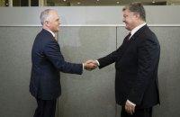 Порошенко і прем'єр Австралії скоординували кроки з покарання винних у аварії МН17