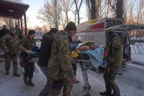 В районі Гнутово на Донбасі поранено українського військового