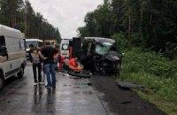 В крупном ДТП возле Львова погиб человек, еще восемь оказались в больнице