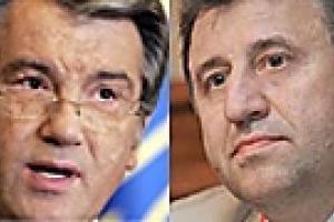Ющенко пообщался о курсе гривны с первым замом главы НБУ