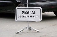 Под Донецком грузовик опрокинул маршрутку: травмированы 12 человек